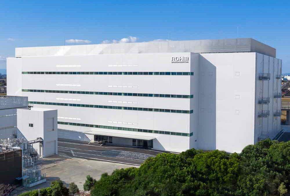 ROHM completes new building at Apollo plant in Chikugo